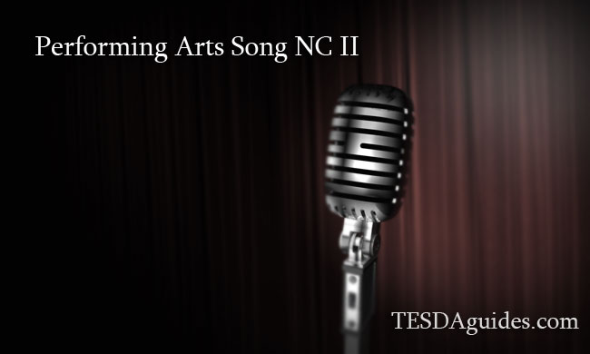 Performing-Arts-Song-NC-II-tesdaguides-com