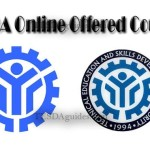 Complete List of TESDA Online Offered Courses