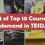 List of Top 10 Courses In-demand in TESDA 2019